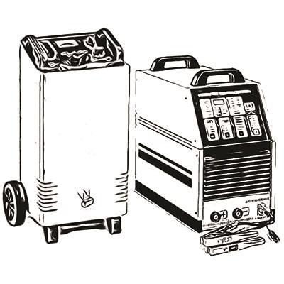 شارژر و استارتر و ابزار متفرقه باتریسازی