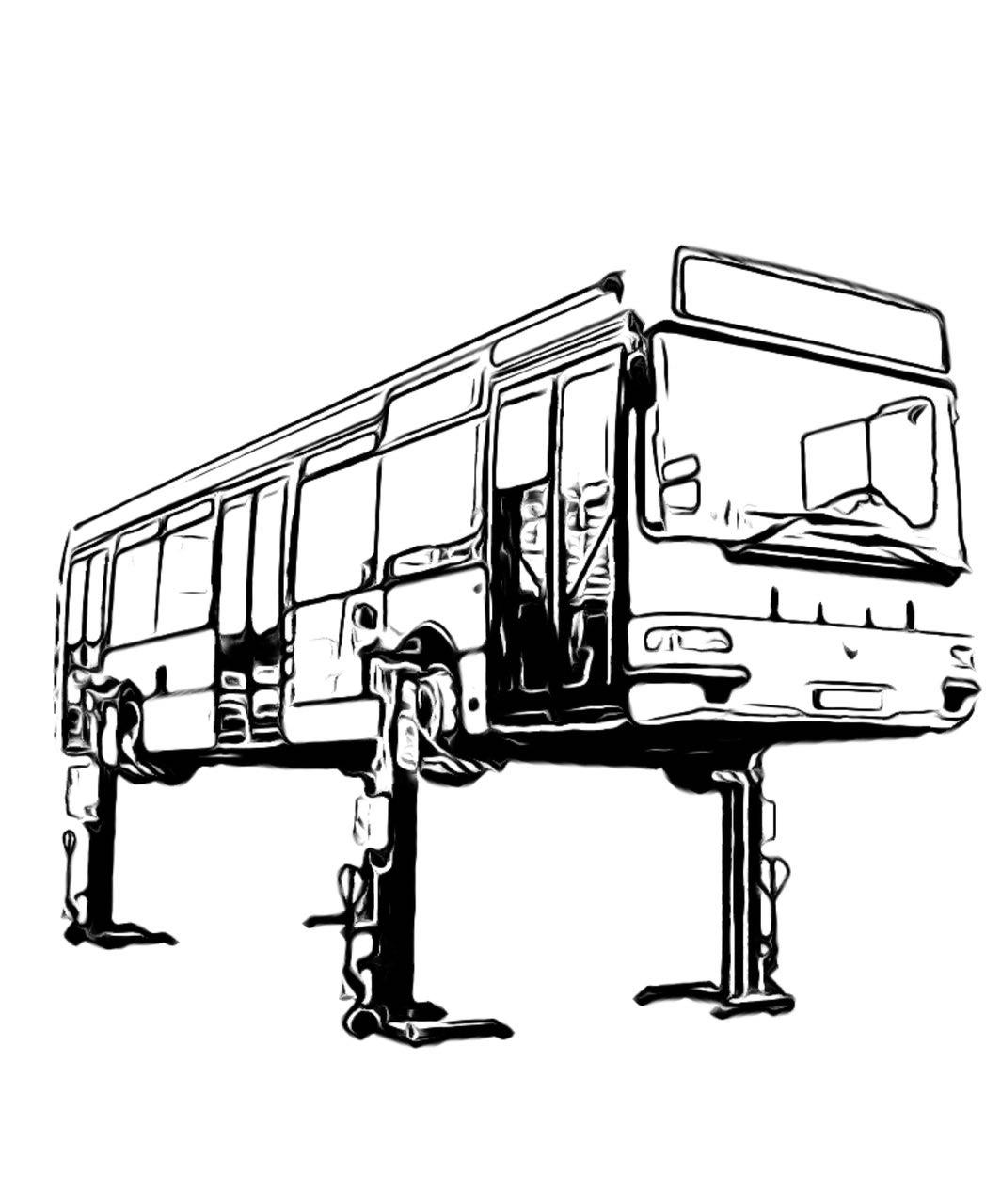 جک اتوبوس و ماشین سنگین