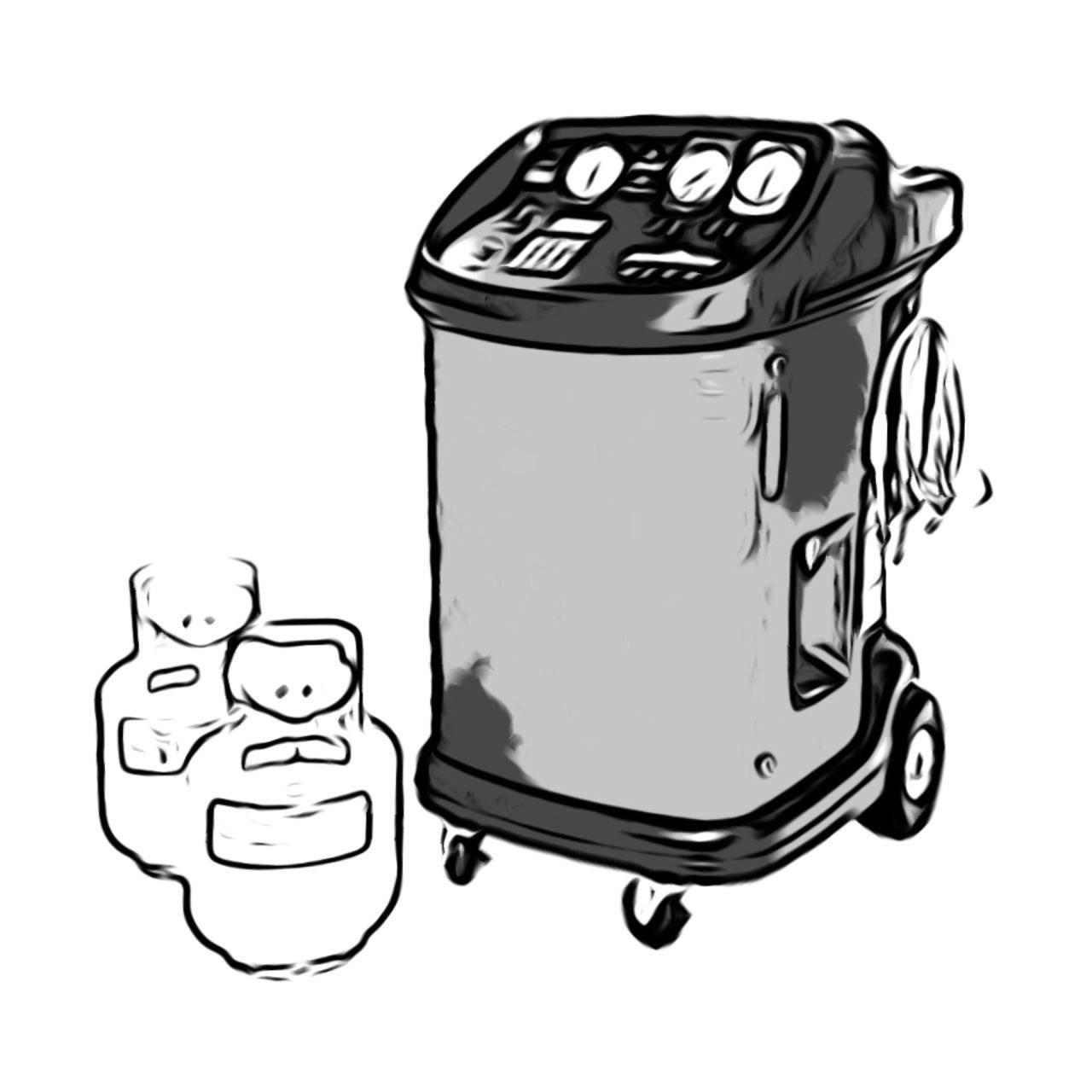 شارژ گاز کولر