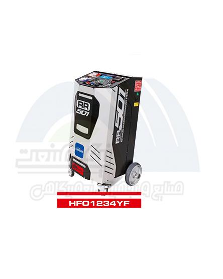 دستگاه شارژ گاز کولر ایتالیایی اتوماتیک دو گازTOPAUTO RR 501